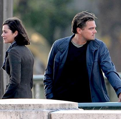 In foto Marion Cotillard (46 anni) Dall'articolo: Inception: le immagini dal set di DiCaprio.