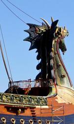 La Dawn Treader -  Dall'articolo: The Chronicles of Narnia: The Voyage of the Dawn Treader, prime immagini dal set.