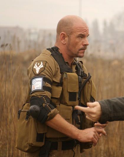 In foto David James Dall'articolo: Neill Blomkamp vorrebbe fare District 10.