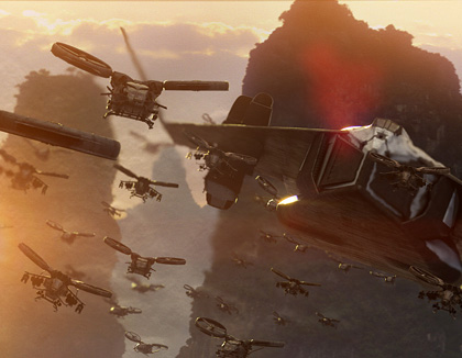 Un'immagine del film -  Dall'articolo: Avatar: sei nuove immagini.