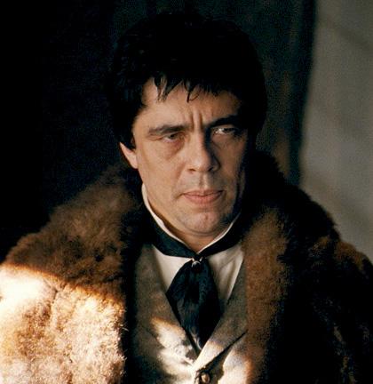 In foto Benicio Del Toro (53 anni) Dall'articolo: The Wolf Man: ecco le prime immagini.