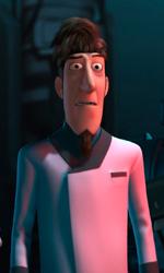 Il dottor Tena e il dottor Elefun -  Dall'articolo: Astro Boy: il poster finale.