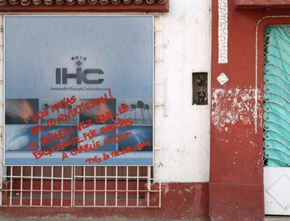 Immagine della campagna virale in Spagna -  Dall'articolo: 2012: altre immagini della campagna virale.