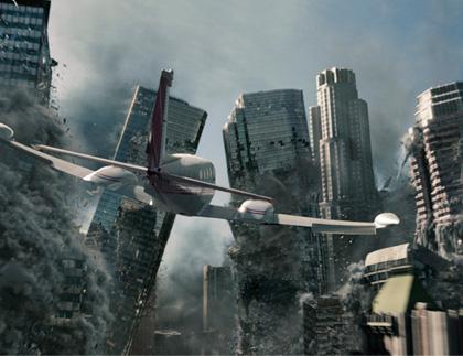 Una scena del film -  Dall'articolo: 2012: altre immagini della campagna virale.