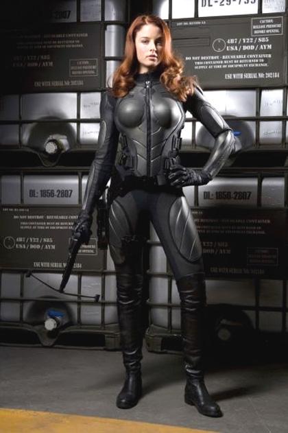 In foto Rachel Nichols (39 anni) Dall'articolo: G.I.Joe: La Nascita dei Cobra, il film.