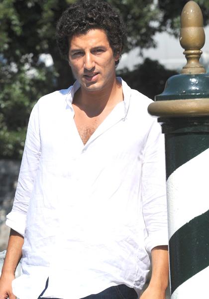 In foto Francesco Scianna (37 anni) Dall'articolo: Festival di Venezia: Giuseppe Tornatore sbarca al lido.