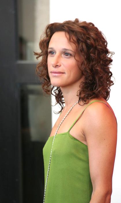 In foto Valeria Parrella Dall'articolo: Lo spazio bianco: regista e autrice sulla stessa lunghezza d'onda.