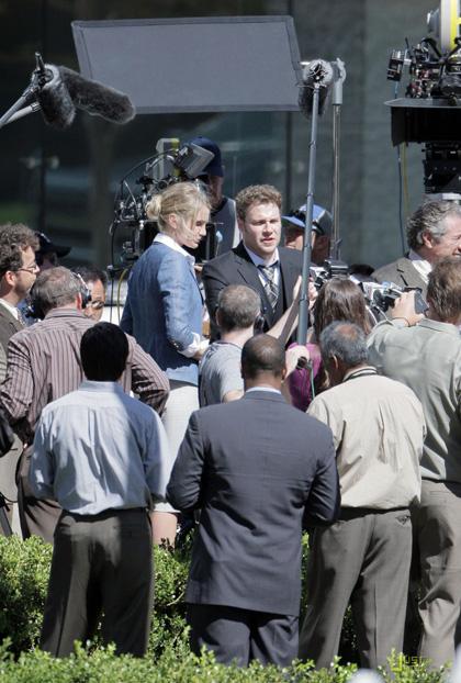 In foto Seth Rogen (39 anni) Dall'articolo: The Green Hornet: Christoph Waltz sostituisce Nicolas Cage.
