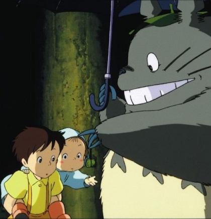 Ecco Totoro -  Dall'articolo: Film nelle sale: Tris di Allen, Scott e Terracciano.