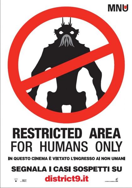 District 9: non solo lo stupore della visione -  Dall'articolo: District 9 deve tutto ai suoi effetti speciali.