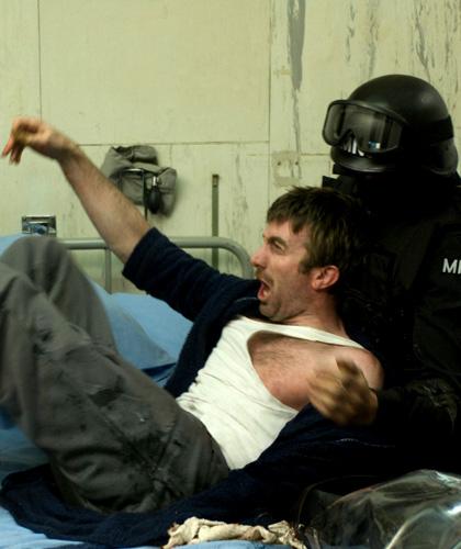 In foto Sharlto Copley (47 anni) Dall'articolo: District 9, il film.