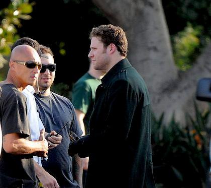 In foto Seth Rogen (39 anni) Dall'articolo: The Green Hornet: rivelato il costume del protagonista.