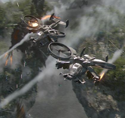 Una scena del film -  Dall'articolo: Avatar: nuove immagini dei Na'vi.