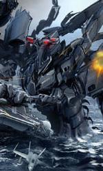 Sopra Carrier all'attacco sotto Stealth Ship -  Dall'articolo: Michael Bay inizia a lavorare a Transformers 3.