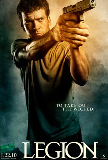 In foto Lucas Black (39 anni) Dall'articolo: Legion: sei character poster.