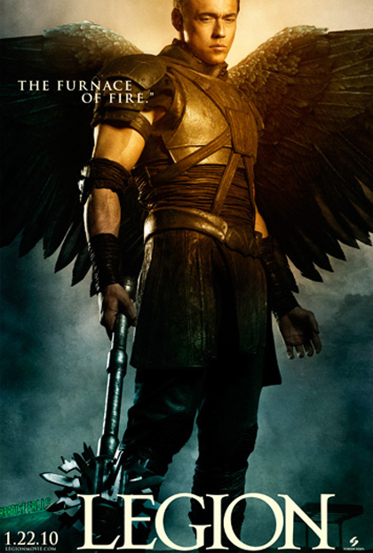 In foto Kevin Durand (47 anni) Dall'articolo: Legion: sei character poster.