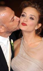 Oggi sposi: il red carpet - Filippo Nigro e Carolina Crescentini