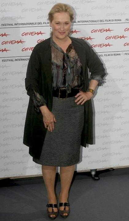 Meryl Streep incontra il pubblico al Festival del Film di Roma