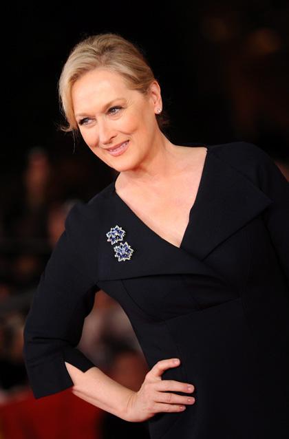 Meryl Streep sul red carpet romano