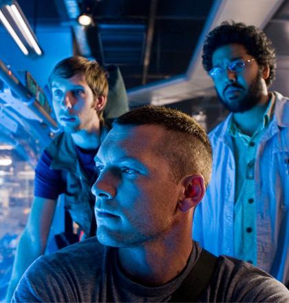 In foto Joel David Moore Dall'articolo: Avatar: descrizione del nuovo trailer che uscirà oggi in America.