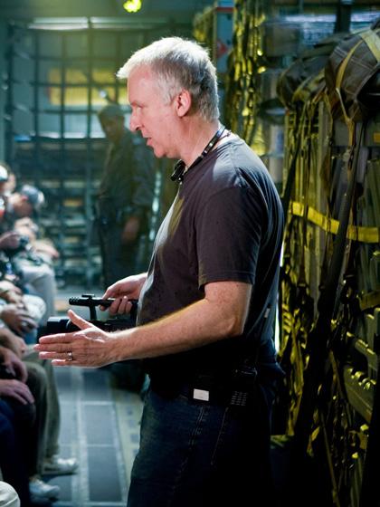 In foto James Cameron (66 anni) Dall'articolo: Avatar: descrizione del nuovo trailer che uscirà oggi in America.