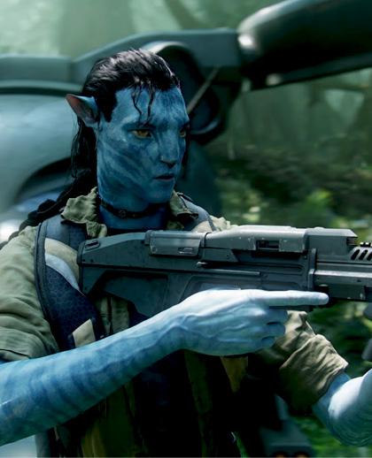 In foto Sam Worthington (43 anni) Dall'articolo: Avatar: intervista a James Cameron.
