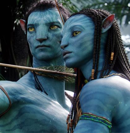 In foto Zoe Saldana (42 anni) Dall'articolo: Avatar: intervista a James Cameron.