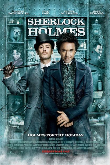 In foto Jude Law (47 anni) Dall'articolo: Sherlock Holmes: il poster finale.