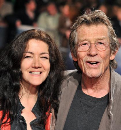 In foto John Hurt Dall'articolo: A Serious Man: premiere a Londra.