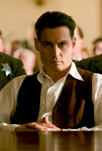 In foto Johnny Depp (58 anni) Dall'articolo: Box Office: Nemico pubblico scalza Up dalla vetta.
