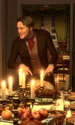 A Christmas Carol: nuove immagini - Una scena del film