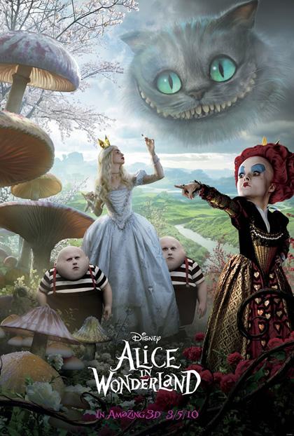 In foto Anne Hathaway (39 anni) Dall'articolo: Alice in Wonderland: nuovo poster.