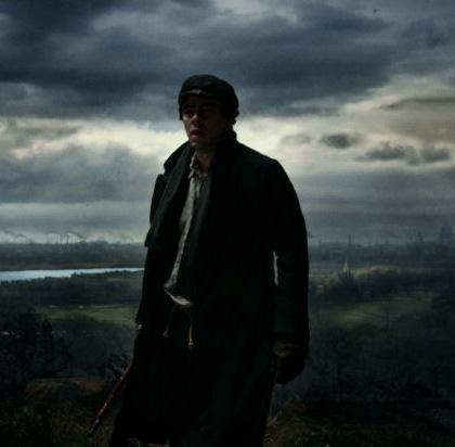 In foto Benicio Del Toro (53 anni) Dall'articolo: The Wolfman: nuovi poster e nuove immagini.
