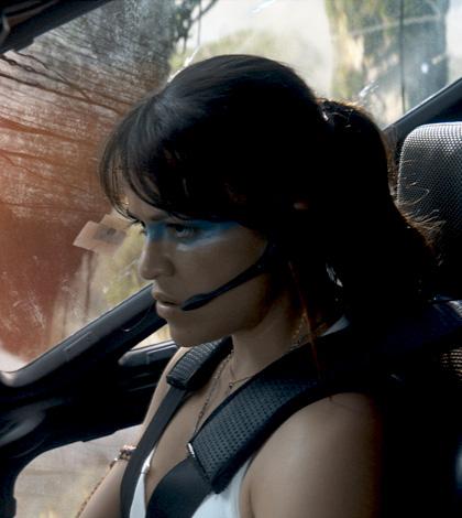 In foto Michelle Rodriguez (42 anni) Dall'articolo: Avatar: una valanga di nuove immagini.