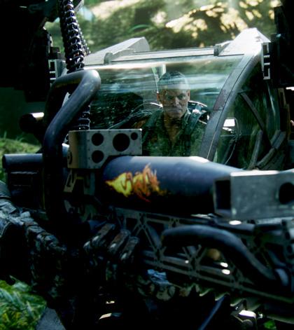 In foto Stephen Lang (67 anni) Dall'articolo: Avatar: una valanga di nuove immagini.