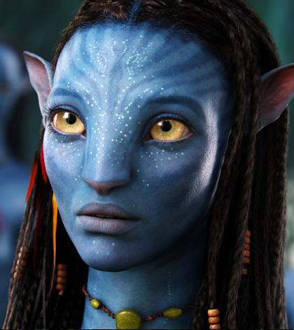 In foto Zoe Saldana (41 anni) Dall'articolo: Avatar: una valanga di nuove immagini.