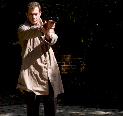 In foto Mel Gibson (63 anni) Dall'articolo: 2010: Prime immagini dei film della Warner.