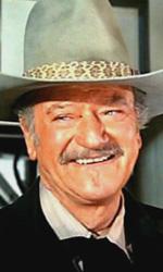In foto John Wayne (113 anni) Dall'articolo: Storia 'poconormale' del cinema: il West (2).