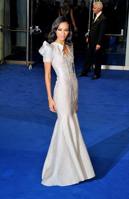 In foto Zoe Saldana (40 anni) Dall'articolo: Avatar: premiere a Londra.