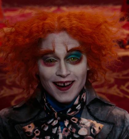 In foto Johnny Depp (58 anni) Dall'articolo: Alice in Wonderland: le immagini e il secondo trailer ufficiale.