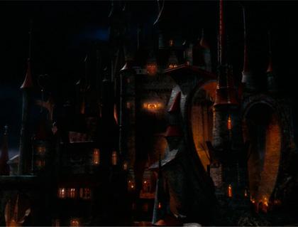 Il castello della regina di Cuori -  Dall'articolo: Alice in Wonderland: le immagini e il secondo trailer ufficiale.
