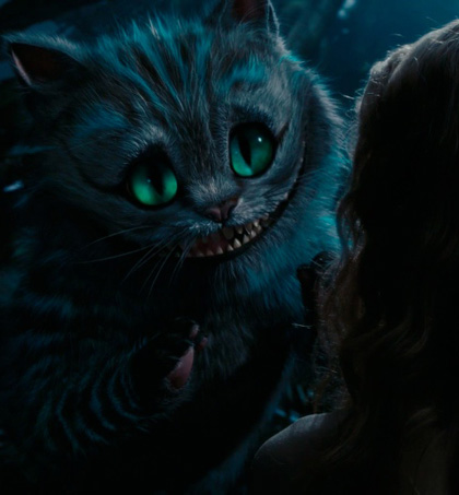In foto Stephen Fry (64 anni) Dall'articolo: Alice in Wonderland: le immagini e il secondo trailer ufficiale.