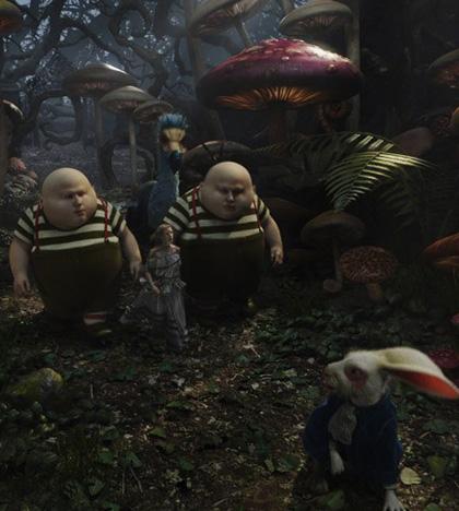In foto Michael Sheen (52 anni) Dall'articolo: Alice in Wonderland: la richiesta di fidanzamento ad Alice nel trailer inglese.