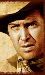 In foto James Stewart (111 anni) Dall'articolo: Storia 'poconormale' del cinema: il West (3).