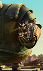 Una scena del film -  Dall'articolo: Astro Boy: ultime immagini del film.