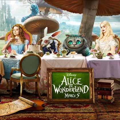 In foto Michael Sheen (52 anni) Dall'articolo: Alice in Wonderland: ecco le immagini delle creature del film.