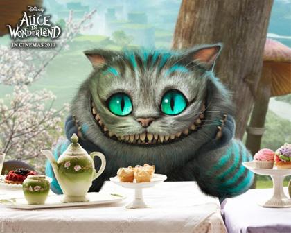 In foto Stephen Fry (62 anni) Dall'articolo: Alice in Wonderland: ecco le immagini delle creature del film.