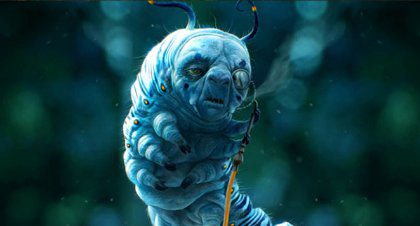 In foto Alan Rickman Dall'articolo: Alice in Wonderland: ecco le immagini delle creature del film.