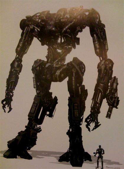 Un terminator -  Dall'articolo: Terminator Salvation: nuove immagini.