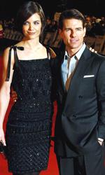 Operazione Valchiria, premiere a Londra e Berlino - Tom Cruise e Katie Holmes a Londra